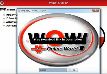 2017 Wow Wurth Snooper + 5.00.12 ENG + Keygen + Blutooth