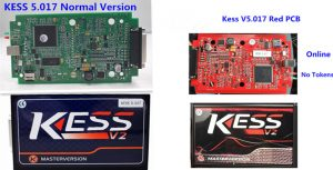 Red PCB KESS V2 5.017 2.23 Online & No Tokens Limited Top EURO Version