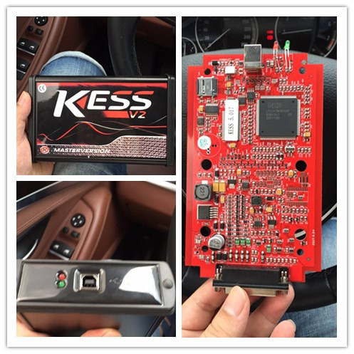 Newest KESS V2 Master Kit,called KESS V2 5.017 With Red PCB EURO Version