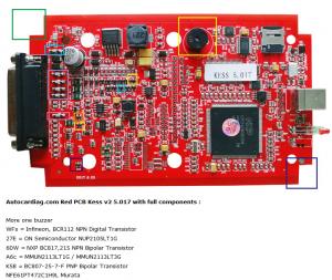 Red PCB KESS 5.017 EU