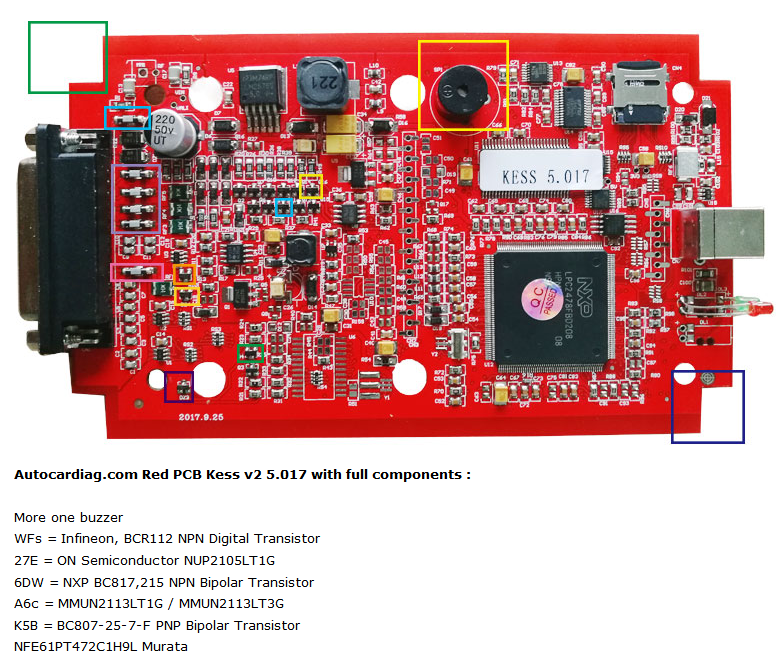 Red PCB KESS 5.017 EU