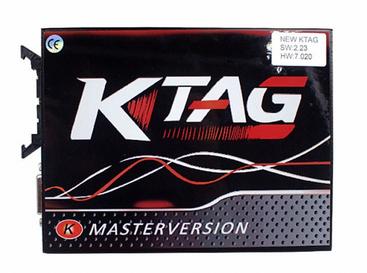 Red PCB KTAG 7.020 Master
