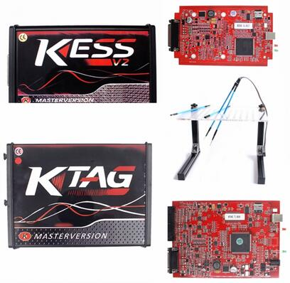 Red kess + Red KTAG+ LED BDM Frame