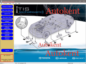 TOYOTA Techstream V12.30.017