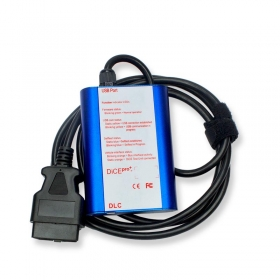 2014D Volvo VIDA Dice Pro+ Diagnostic Tool Blue Color
