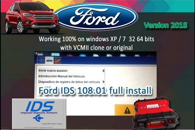 Ford IDS V108.01 For VCM II
