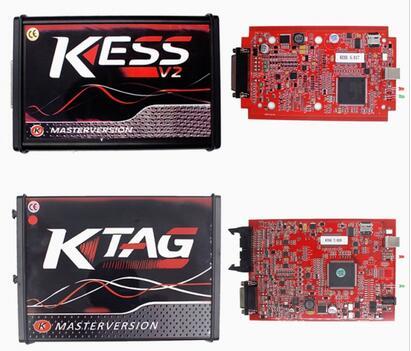 Red KESS 5.017 KTAG 7.020