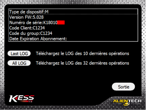 KESS FW5.028