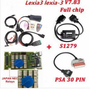Lexia3 Lexia-3 + 30 Pin + S.1279